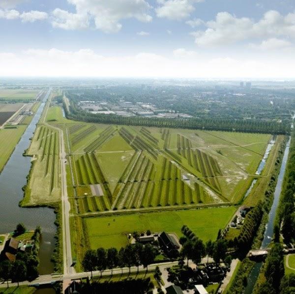 controle de ruído, ruído de aeroportos, schiphol, soundscape, paisagismo, Buitenschot, holanda, amsterdan