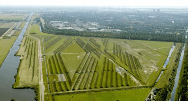 controle de ruído, Buitenschot Terra Art Park, ruído de aeroportos, schiphol, soundscape, paisagismo, Buitenschot, holanda, amsterdan